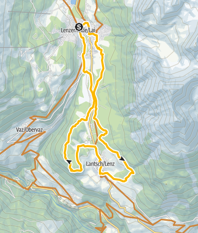 Map / 601 Lenzerheide-Tal-Tour