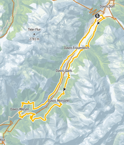 Map / 338 Zügenschlucht