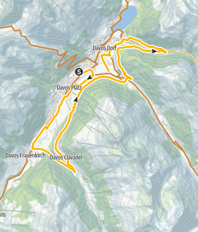 Map / 337 Davoser Taltour