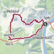 Karte / Jauerling - Trenning - Spitzer Graben