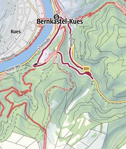 Karte / Familien-Rundweg (Stadtspaziergang)