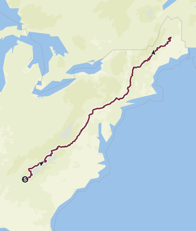 Appalachian Trail (Triple Crown of Hiking) • Long Distance ...