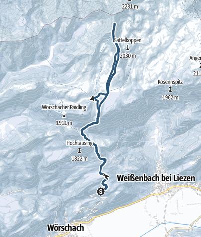 Térkép / Hochmölbing