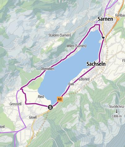 Carte / Sarnerseerundfahrt