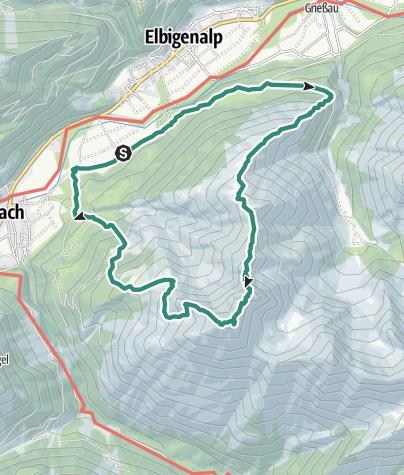 Karte / Ruitelspitzen Überschreitung