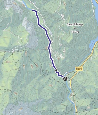 Map / Torrente Vanoi A1