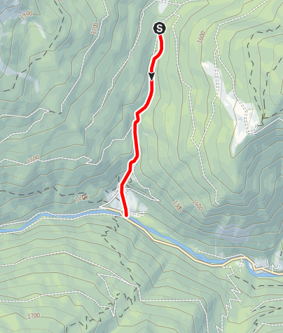 Map / Rio Coldosè B1