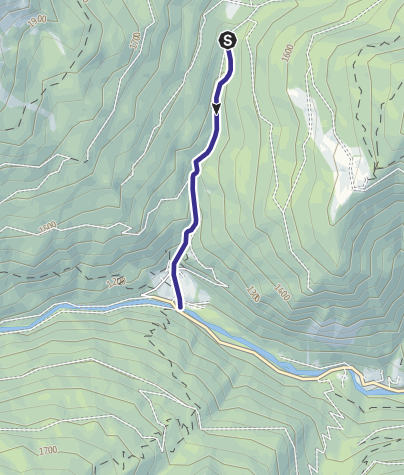 Karte / Rio Coldosè B1
