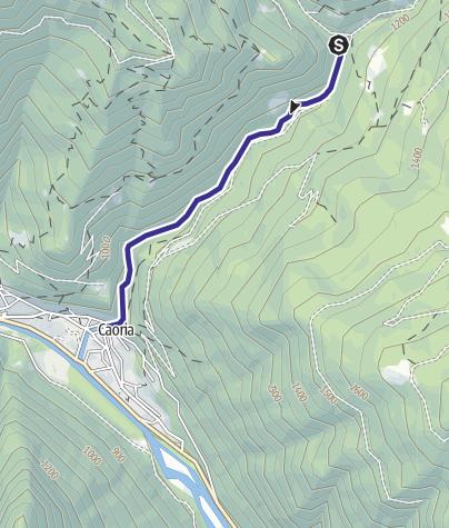 Karte / Rio Valsorda B2