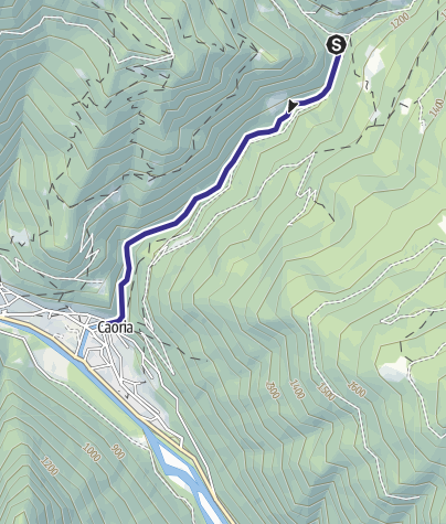 Map / Rio Valsorda B2