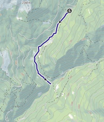 Karte / Rio Valcanza B3