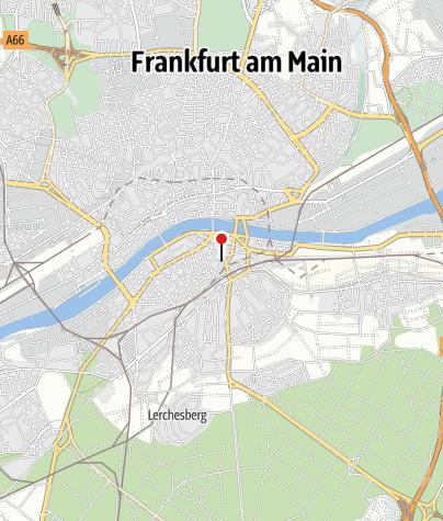 Karte / FAHRRADVERLEIH FRANKFURT