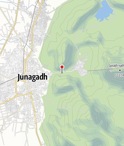 Karte / Damodar Kunda Trekking - 25 Tage Tour