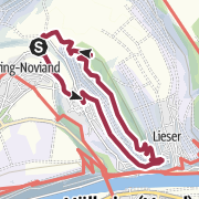 Map / Honigberg-Tour in Maring-Noviand at the Moselle
