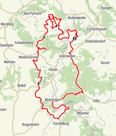 tour 2 ottensteiner hochebene beverungen neuhaus bevern motorrad 187 dreamango