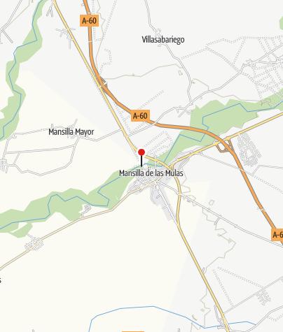 Karte / Río Esla