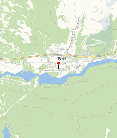 Karte / Hotell Duvedsgården