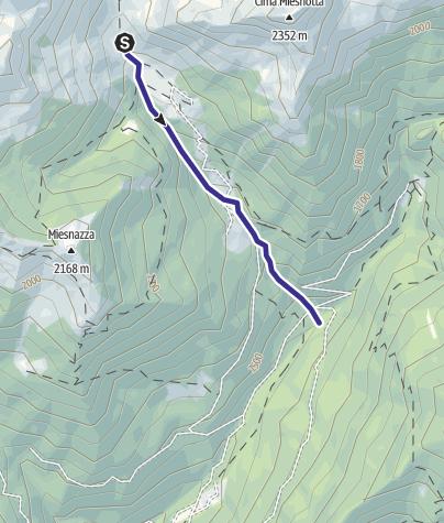 Mappa / Rio Miesnotta B4