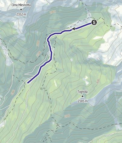 Karte / Rio Valzanchetta B5