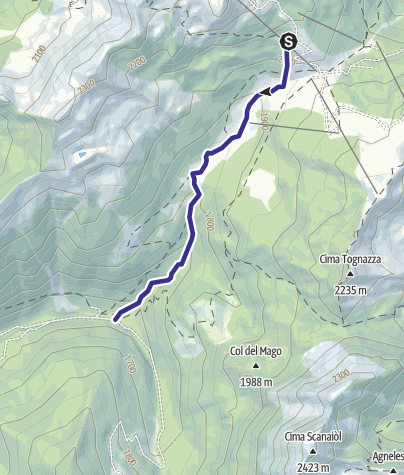 Cartina / Rio Tognola B6