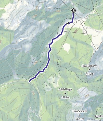 Mappa / Rio Tognola B6