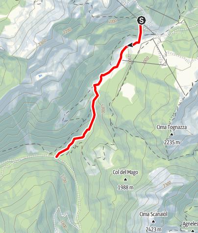 Map / Rio Tognola B6