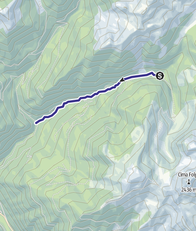 Map / Rio Valsorda B7