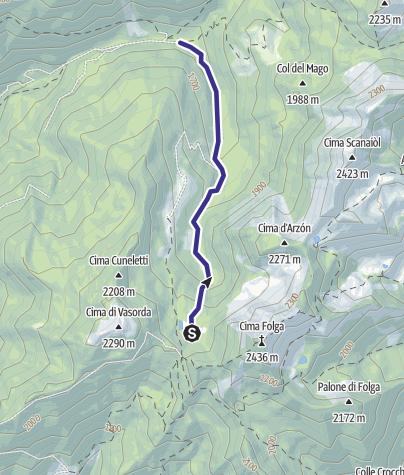 Karte / Rio Valsorda B8