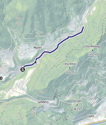 Mappa / Torrente Lozen C2