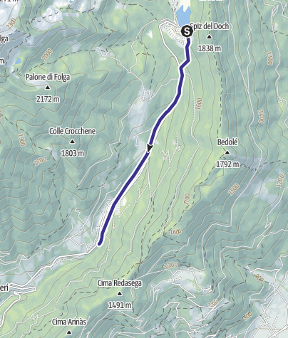 Cartina / Torrente Lozen C3
