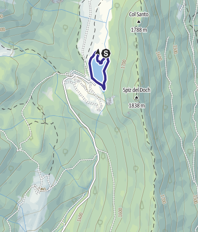 Map / Lago di Calaita D