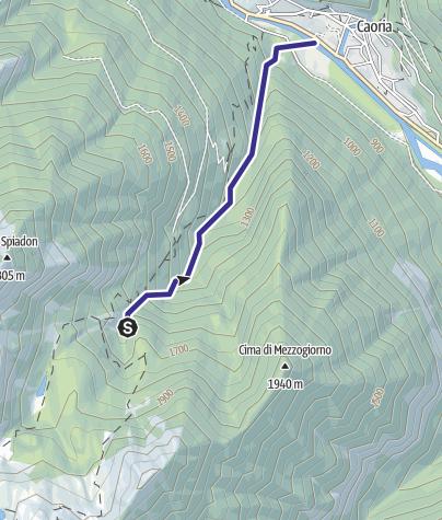 Mappa / Rio Reganel F