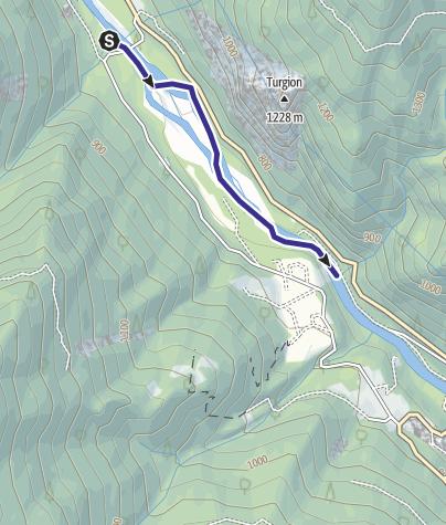 Map / Torrente Vanoi XM