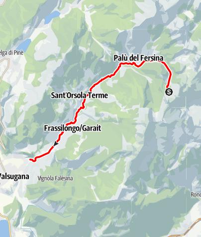 Map / Torrente Fersina A