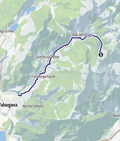 Mappa / Torrente Fersina A