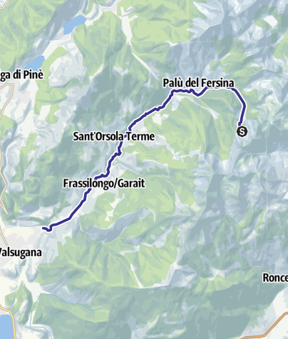 Karte / Torrente Fersina A