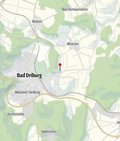 Karte / Reha-Zentrum Bad Driburg - Klinik Berlin