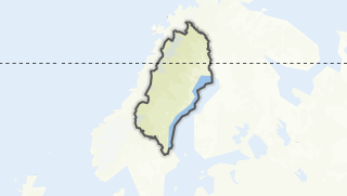 Map / Norrland
