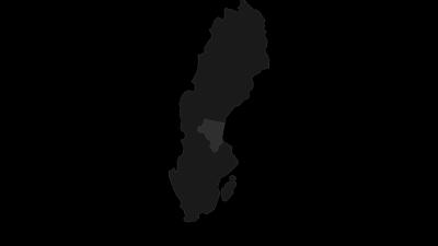 Mapa / Provinz Gävleborg