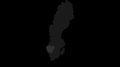 Karte / Westschweden