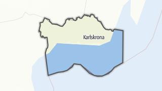Karte / Blekinge län