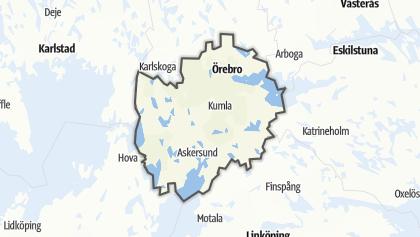 Карта / Närke