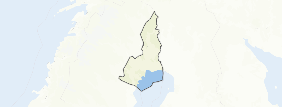 Mapa / Ciclismo en Norrbotten