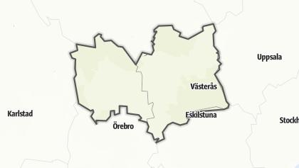 Mapa / Västmanland