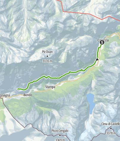 Map / Sentiero Panoramico