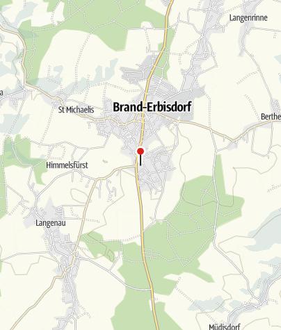 Karte / Richter Erzgebirge Brand - Erbisdorf Aldi