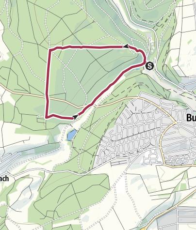 Karte / Bulau-Weg B3