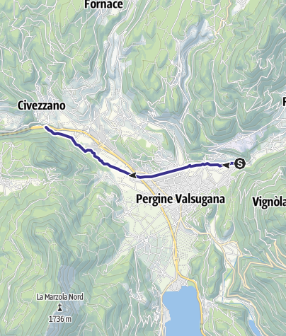 Map / Torrente Fersina B