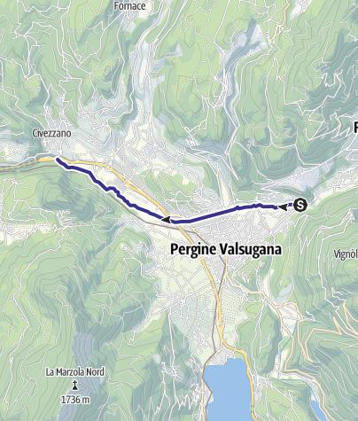 Karte / Torrente Fersina B