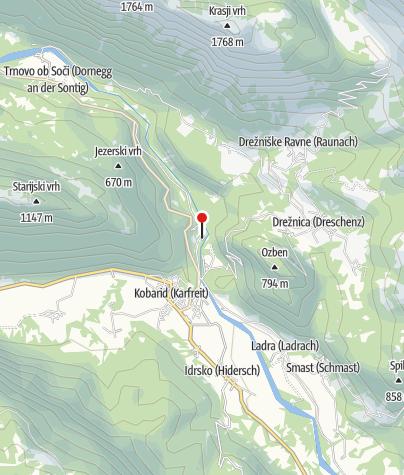 Cartina / Ristorante Campeggio Lazar